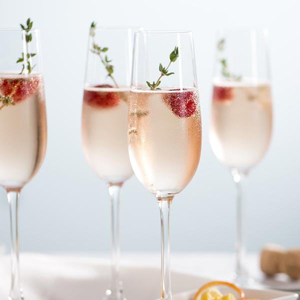 Raspberry Rose Spritz