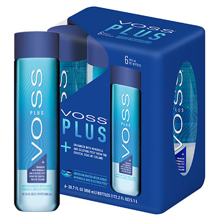 Product VOSS Plus™ <small>(850ml/High Grade Plastic/12 Pack)</small> Added to Cart